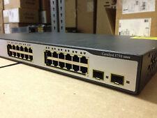 CISCO 24 Port WS-C3750-24TS-E 24 Ethernet Gigabit Switch ipservices IOS 3750