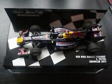 Vettel Red Bull Racing Renault RB7 Showcar 2011 Formel 1 Minichamps 1:43