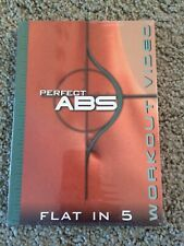 Perfect Abs Flat in 5 Fitness Workout Video exercise core Dvd - New & Sealed