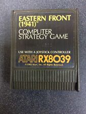 Eastern Front 1941 RX8039 Atari 400 800 Computer Video Game Cartridge