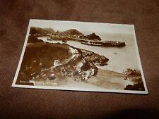 1930s Devon postcard - Rapparee Bathing Cove - Ilfracombe
