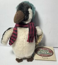 "Vintage Ganz Cottage Collectibles 6"" Plush Stuffed Animal Penguin Popsicle 2000"