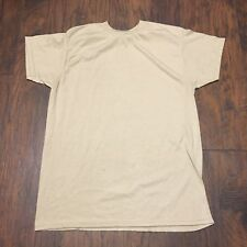 Skilcraft DSCP US Army Sand T-Shirt Crew Neck sz medium