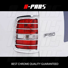 For Ford F-150 F150 2004 2005 2006 2007 2008 Chrome Taillight Tail Light Covers
