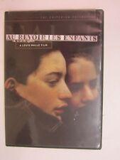 Criterion Collection: Au Revoir Les Enfants (DVD, 2006) FREE SHIPPING