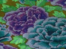 Rowan Kaffe Fassett Kimono Floral Fabric GP33-Cobalt/Turq, Limited Edition BTY