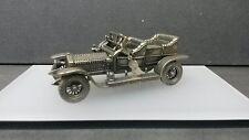 Modellino Rolls-Royce Silver Ghost in argento brunito 800 UNOAERRE da collezione