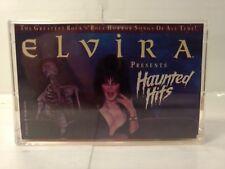 Elvira Presents Haunted Hits 1988 Rhino Cassette Tape R4-71492    h76