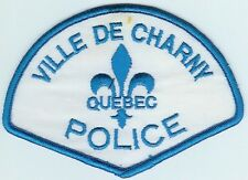 VILLE DE CHARNY QUEBEC CANADA POLICE PATCH