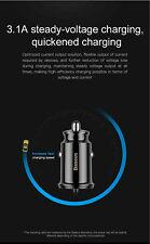Baseus Mini USB DUAL Car Charger 3.1 Amp For iPhone X XS XR SAMSUNG GALAXY