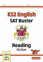 New KS2 English Reading SAT Buster: Fiction - Book 2 (for the 2021 tests) (CGP K