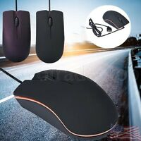 New USB LED Optical Wired Mouse Standard Game Mini Mice For PC Laptop Computer