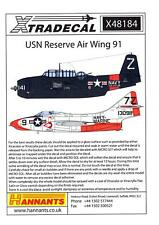 Xtra Decals 1/48 U.S. NAVY RESERVE AIR WING 91