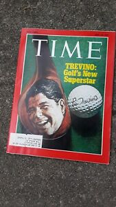 July 19, 1971 Time Magazine with Lee Trevino On Cover