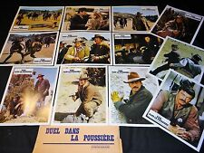 DUEL DANS LA POUSSIERE !  rock hudson  jeu 12 photos cinema lobby cards western