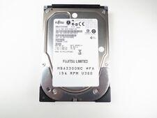 """MBA3300NC FUJITSU 300GB 15K SCSI 80-PIN 3.5"""" U320 HDD"""