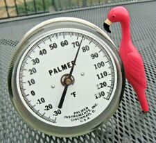 Massive 2 Stainless Palmer Instruments F Precision Thermometer 30f 130f