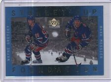 1996/97 UPPER DECK ICE STANLEY CUP FOUNDATION WAYNE GRETZKY, MARK MESSIER