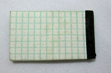 """Miniature Graph Paper Pad 1-3/8""""tall x 3/4""""wide for doll house or shadow box"""