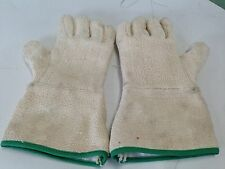 Lot 28 Pair Um-0382-0392-Gr 100% Cotton Terrycloth Lined Heavy Duty Gloves Df