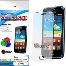 5 Pz Pellicole Per Samsung Galaxy Ace Plus S7500 Proteggi Schermo LCD Pellicola