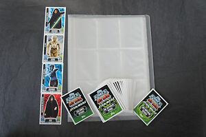 Force Attax Sammelmappe Serie 1,2,3 oder Movie Serie 1,2 Starter-Set Star Wars