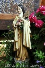 """10"""" Statue ST. THERESA THERESE OF LISIEUX The Little Flower Beautiful ~ NEW!"""