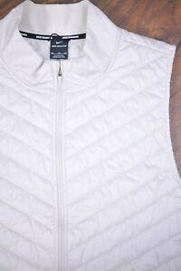 Nike Aerolayer Quilted Running Vest Light Beige Men's XXL