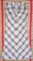 Burberry1 London Woman's Dress L Large Size Chest 19 inches.