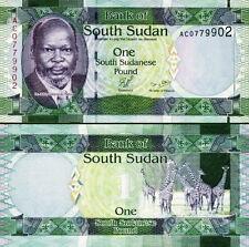 SUD-SUDAN South-Sudan - 1 pound 2011 FDS - UNC