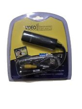 VHS to DVD Capture Card Device TV Digital Converter USB 2 Video Audio Transfer