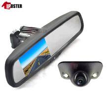 "Car Rear View Mirror Kit 4.3"" Monitor No1 Bracket +Front / Side / Backup Camera"