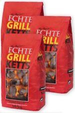 "GrillKetts ""Feuer&Flamme"" Holzkohle Grillkohle Briketts 3 x 10 kg (1,04 € /1 kg)"