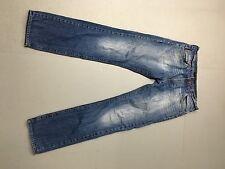 Da Uomo Calvin Klein 'SLIM' JEANS-W34 L34-Blu Scuro Wash-ottime condizioni