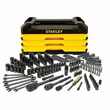 STANLEY 203 Pc. Mechanics Tool Set with Metal Storage Box