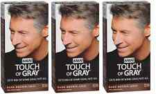 Just for Men Touch of Gray, Hair Treatment,Dark Brown-Gray T-45 (3 Pack)