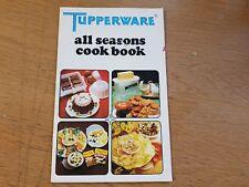 tupperware / all seasons cook book