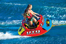 WOW Watersports UTO Apollo 2 Rider Inflatable Water Tube Boat Towable 18-1090