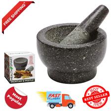Health Smart Granite Mortar and Pestle