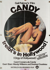 Filmplakat Candy treibts in Hollywood/Candy Goes to Hollywood 1979 D.Cousteau