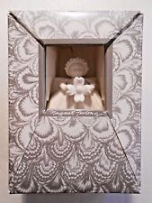 Margaret Furlong Designs, Handmade Angel Ornament, 1988, Holding a flower! Nos
