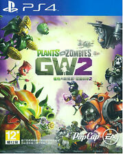 Plants vs Zombies: Garden Warfare 2 HK Chinese/English Subtitle Version PS4 NEW