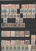Central Lithuania - Litwa Srodkowa old stamps 4 scans