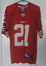 c7b506a8b Frank Gore 21 San Francisco 49ers Reebok NFL Football Jersey Mens Size  Medium ...