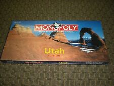 Utah Monopoly Souvenir history & geography game. New.