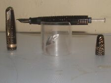 PARKER VACUMATIC MAJOR Circa 1936 14K NIB  EXCELLENT  RESTORED