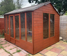 8 x 10 BillyOh  Summerhouse with Long Windows OSB Roof and Floor