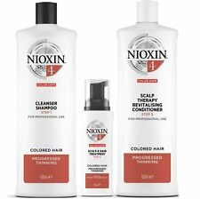 Nioxin System 4 for Progressed Thinning Coloured Hair  Mutliple Variations