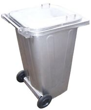 Mülltonne / Müllgroßbehälter Stahl / verzinkt 240 liter