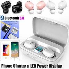 Mini Bluetooth Headset Wireless Earbud Sport Earphone For iPhone Samsung Lg Moto
